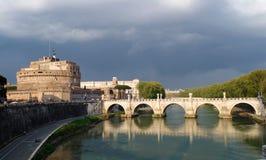 Roma Sant Angelo fotografering för bildbyråer