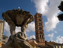 Roma - Santa Maria in cosmedin Royalty Free Stock Images