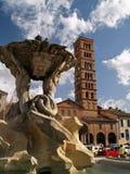 Roma - Santa Maria dans le cosmedin Photographie stock libre de droits