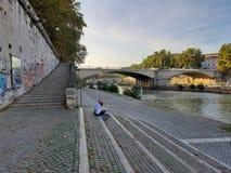 Free Roma - Scale Del Lungotevere Degli Anguillara Royalty Free Stock Photo - 167511665