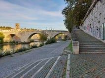 Free Roma - Scalinata Del Lungotevere Degli Anguillara Stock Photography - 167511662