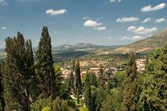 Romańscy wzgórza Zdjęcia Royalty Free