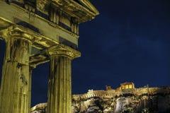 Romańska agora w Ateny, Grecja Zdjęcia Royalty Free
