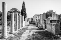 Romańska agora w Ateny, Grecja Obraz Stock