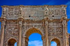 Romańska brama Zdjęcia Royalty Free