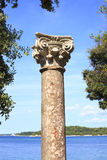 Romańska kolumna Obrazy Stock