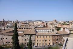 Romańska linia horyzontu Obraz Royalty Free