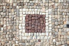 Romańska mozaiki granica Zdjęcie Stock