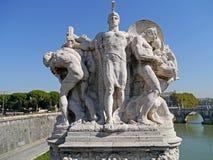 Romańska statua Zdjęcie Royalty Free