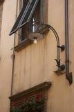 Romańska ulica Zdjęcia Royalty Free