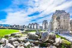 Romański amfiteatr w Chorwacja, Europa Fotografia Stock