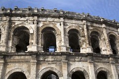 Romański Amphitheatre, Nimes Obraz Royalty Free