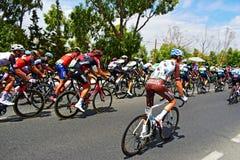 Romański Bardet W Peletonu losie angeles Vuelta España Obraz Royalty Free