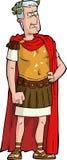 Romański cesarz Obraz Royalty Free