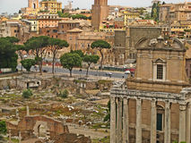 Romański forum 01 Zdjęcia Royalty Free