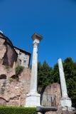 Romański forum Zdjęcie Royalty Free