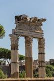 Romański forum antyczny Obrazy Stock