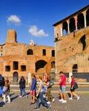 ROMAŃSKI forum, RZYM, ITALY-SEPTEMBER 24 Zdjęcie Stock