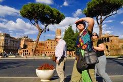 ROMAŃSKI forum, RZYM, ITALY-SEPTEMBER 24 Zdjęcie Royalty Free