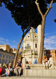 ROMAŃSKI forum, RZYM, ITALY-SEPTEMBER 24 Zdjęcia Stock
