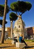 ROMAŃSKI forum, RZYM, ITALY-SEPTEMBER 24 Zdjęcia Royalty Free