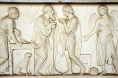 Romański sarkofag Fotografia Royalty Free
