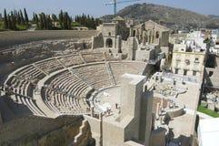 Romański teatr Zdjęcie Royalty Free