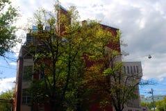 Romański Viktyuk teatr w Moskwa Fotografia Stock