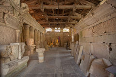 Romańskie archeological ruiny Obrazy Stock