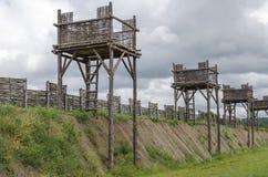 Romańskie fortyfikacje Zdjęcie Stock
