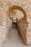 Romańskie ruiny, Um ar, Jordania Fotografia Stock