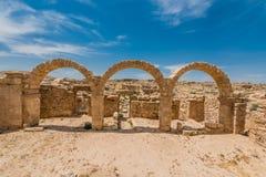 Romańskie ruiny, Um ar, Jordania Obrazy Royalty Free