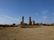 Romańskie ruiny Volubilis Obraz Royalty Free