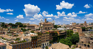Roma skyline Stock Photos