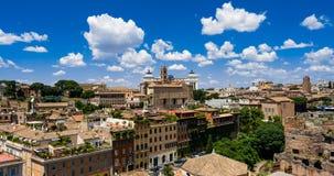 Roma skyline. The skyline of roma ,Italy Stock Photos