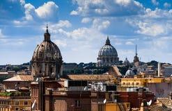 Roma skyline Royalty Free Stock Photography