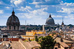 Roma skyline Stock Photos