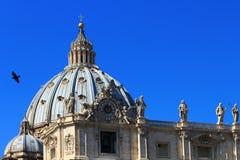 Roma - St, a basílica de Peter Fotografia de Stock Royalty Free