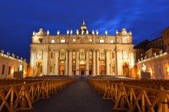 Roma, St Peter Square Fotografia de Stock Royalty Free