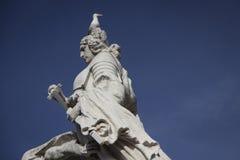 Roma, statua in piazza Venezia Fotografie Stock Libere da Diritti