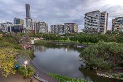 Roma Street Parklands Brisbane Australia Royalty Free Stock Image