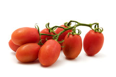 Roma Tomato. On a white background Royalty Free Stock Image
