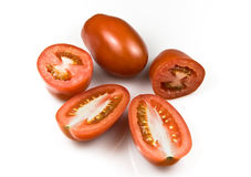 Roma tomatoes Royalty Free Stock Photos