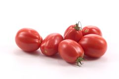 Roma Tomatoes Royalty Free Stock Photos