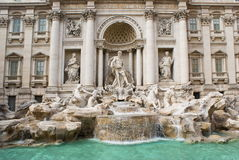 Roma, Trevi Fountain Royalty Free Stock Photos