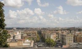 Roma, una vista superiore del Vaticano Immagini Stock Libere da Diritti
