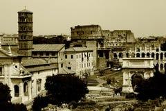 Roma velha outra vez Fotografia de Stock