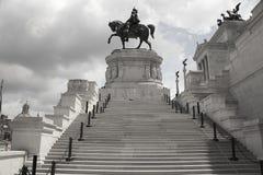 Roma: Venezia quadrato, l'altare della patria Fotografie Stock
