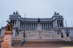 Roma: Venezia quadrato, l'altare della patria Fotografia Stock Libera da Diritti