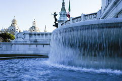 Roma: Venezia quadrato, l'altare della patria Immagine Stock Libera da Diritti